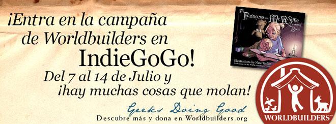 Worldbuilder IndieGoGo Banner