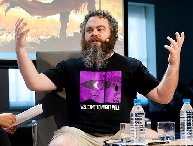Patrick Rothfuss - Espacio Fundación Telefónica - Roca de Guía