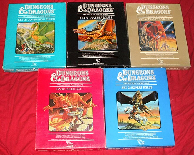 Cajas Dungeons and Dragons