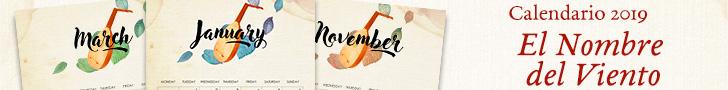 Calendario Benéfico de El Nombre del Viento